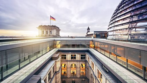 The German government on the front line of energy efficiency
