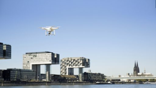 Drones: building blocks for the smart city
