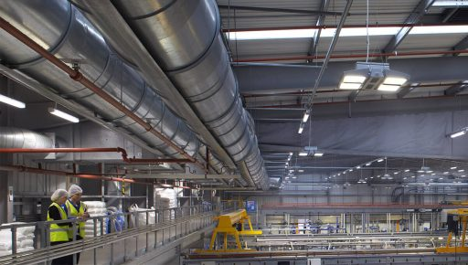LEDs give industrial plants a bright future