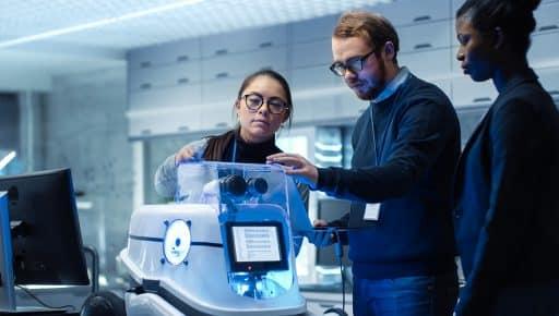 L'avenir du robot : le bien-être au bureau