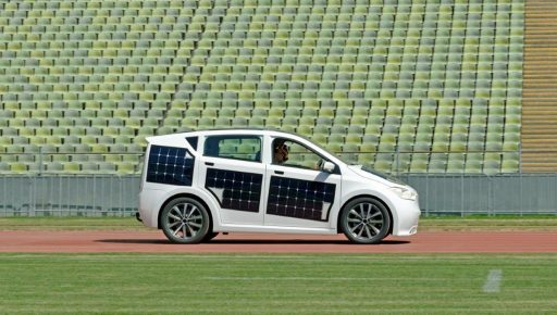Sion, first solar-powered city car