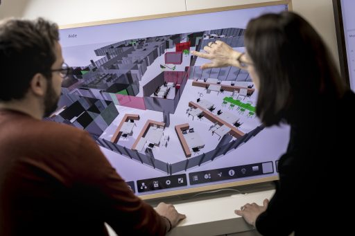 BIM, a laboratory for building space management
