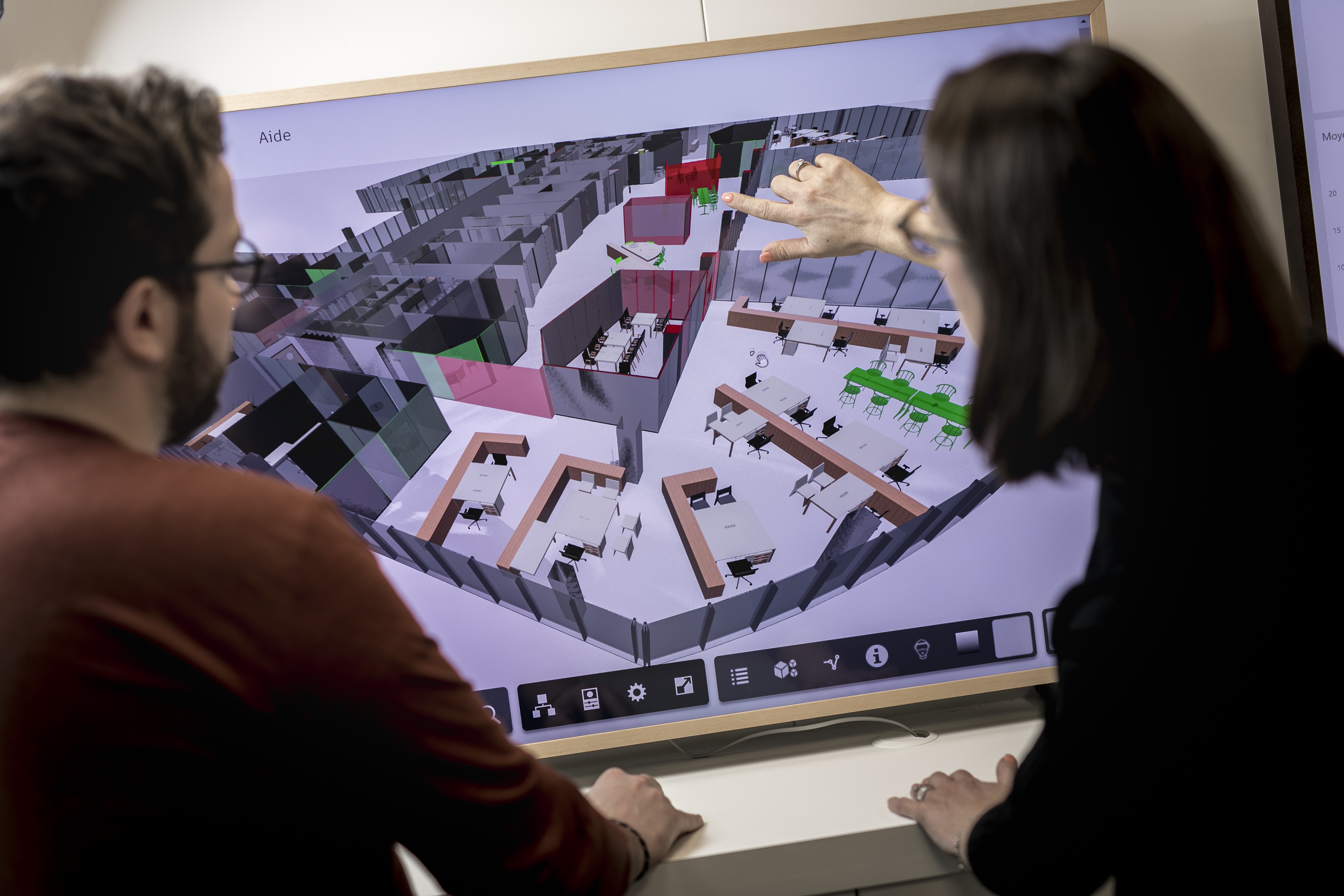 Le bim laboratoire pour la gestion des espaces du bâtiment