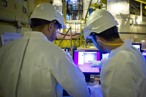 Non-destructive testing, for safer nuclear power plants