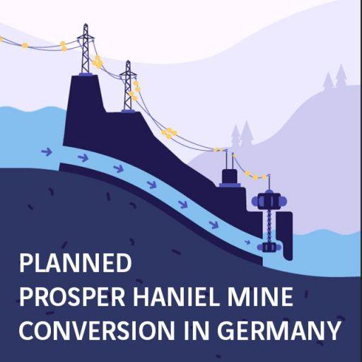 Planned Prosper Haniel mine conversion in Germany
