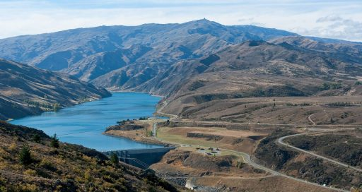 Wasserkraft – im neuseeländischen Energiemix von zentraler Bedeutung