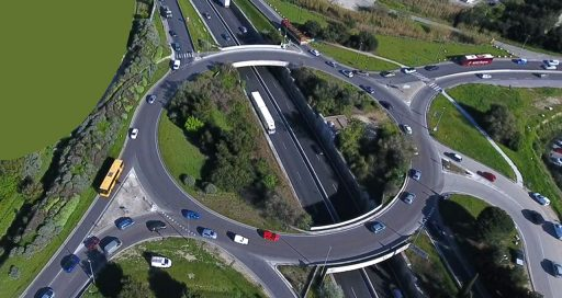 How a drone is helping to better tackle traffic jams