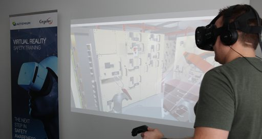 Virtual reality, supporting safety