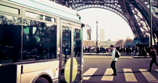 Paris buses go electric