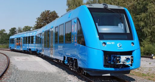 Hydrogen-powered trains, from technological viability to economic maturity