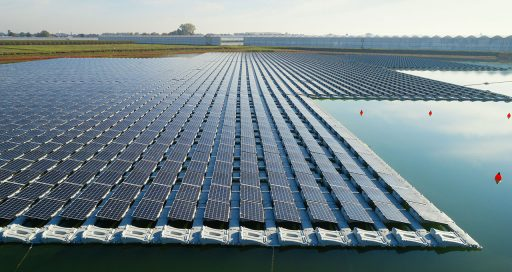 Floating solar, a solution to land scarcity