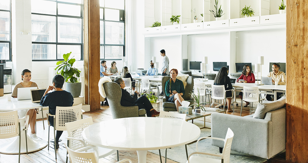 Teleworking Prompts Rethink Of Commercial Space