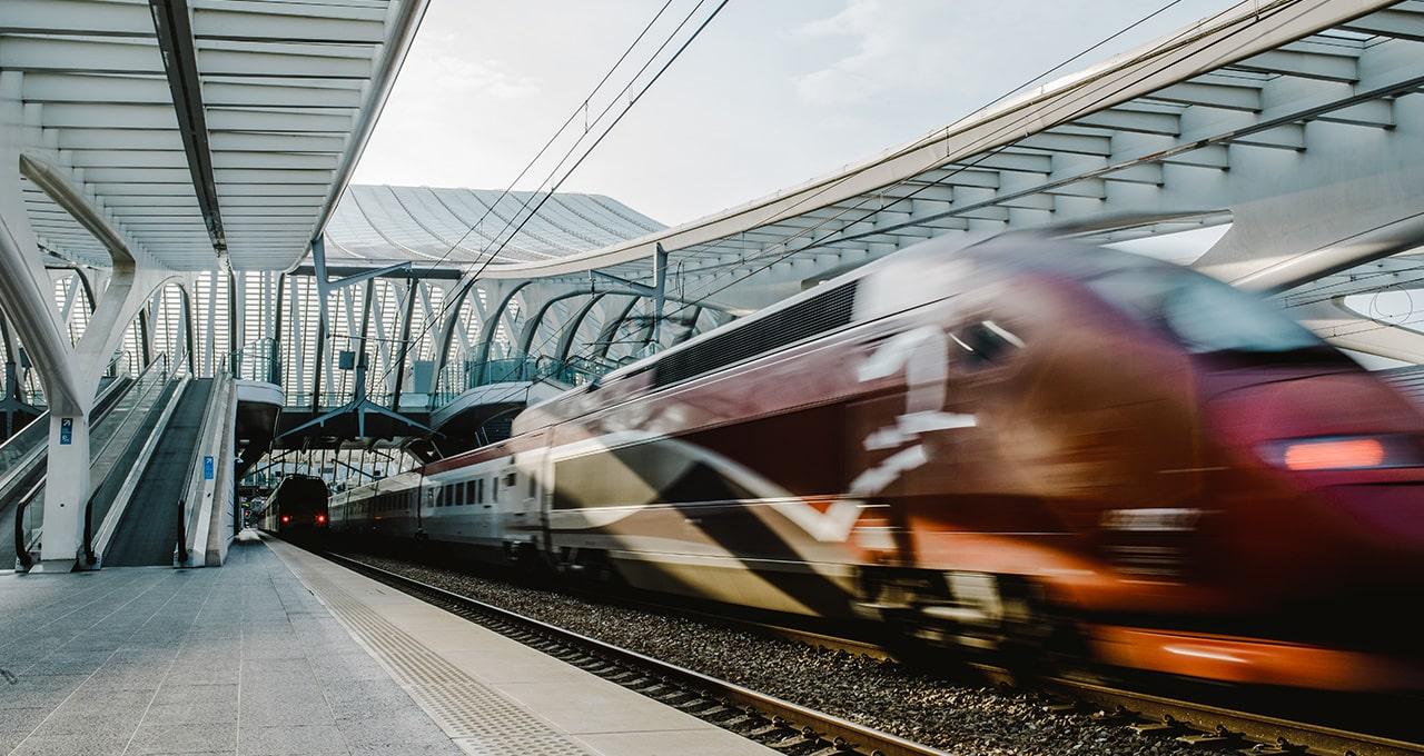 Trenes más seguros en Europa con los datos de las infraestructuras ferroviarias de alta velocidad
