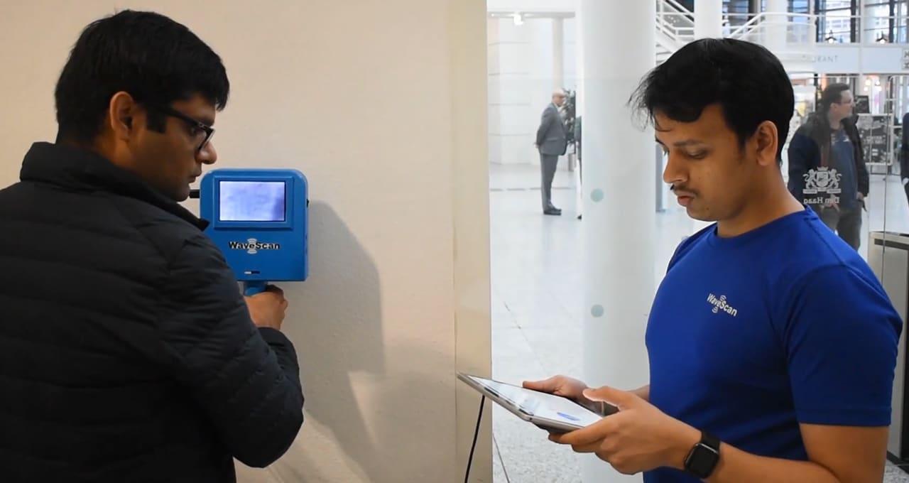 Um scanner inovador para auscultar os edifícios