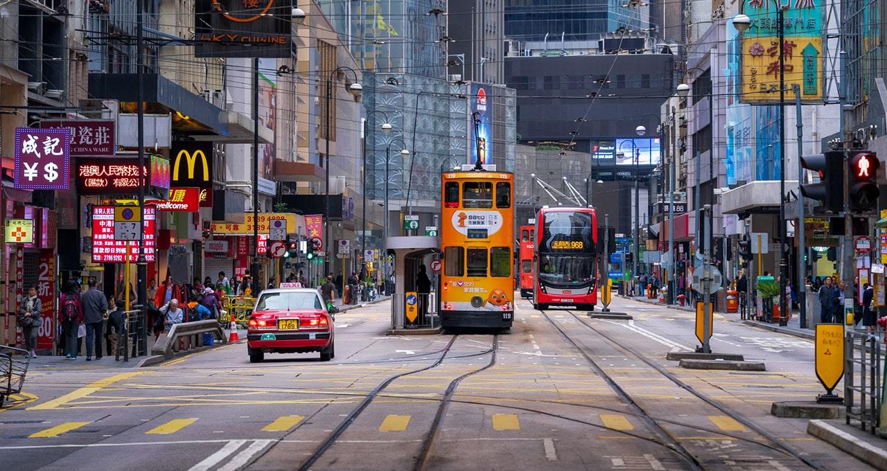 Hong Kong tem a propriedade fundiária como modelo de financiamento