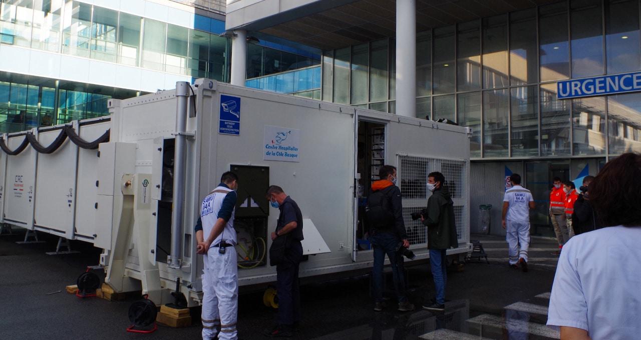 Neuartige mobile Einheit für die notfallmedizinische Versorgung