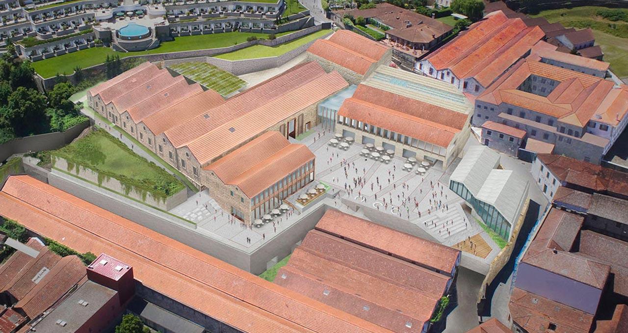 No Porto, um mega complexo de enoturismo monitora de perto os usos