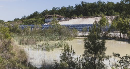 Former quarry sites secure their place in the sun